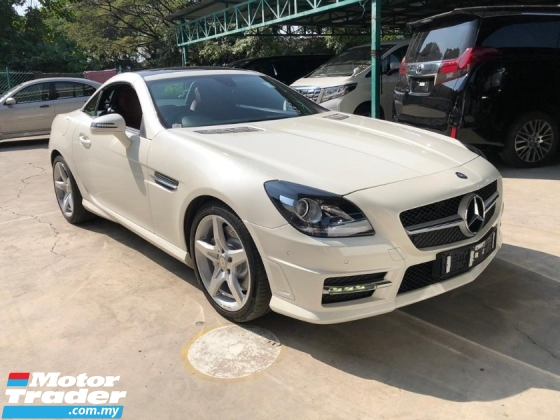 2015 MERCEDES-BENZ SLK SLK200 2.0 TURBO ALL TAX INCLUDE NO HIDDEN CHARGES