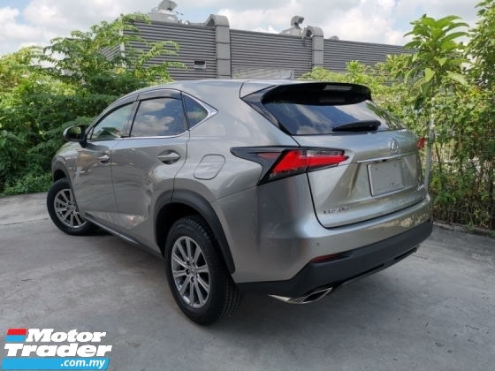 2016 LEXUS NX 200T i PACKAGE SPECIAL OFFER SILVER UNREG