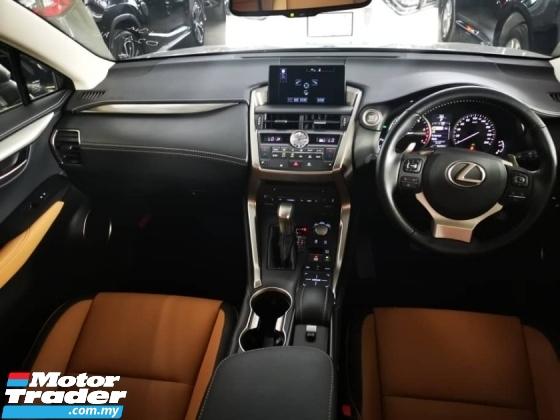 2016 LEXUS NX 200T - JAPAN SPEC UNREG - BROWN LEATHER SEAT