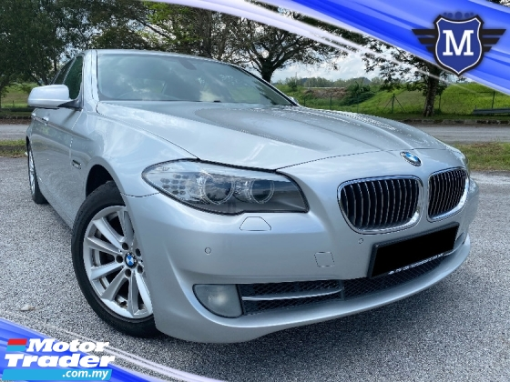 2012 BMW 5 SERIES 520I 2.0 F10 P/SEAT NAVI CAR KING CONDITION