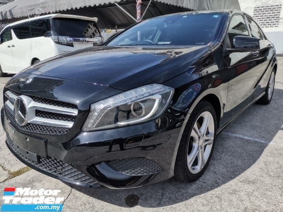 2015 MERCEDES-BENZ A-CLASS Mercedez A180 with pre collision assist