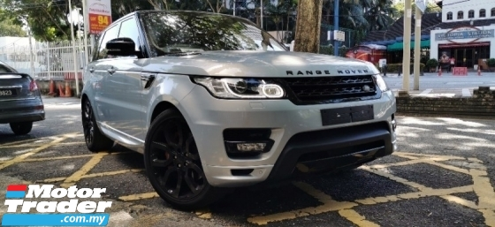 2015 LAND ROVER RANGE ROVER SPORT 3.0 AUTOBIO SDV6 DYNAMIC / NEW OFFER SST PRICE / READY STOCK