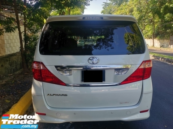 2009 TOYOTA ALPHARD 2009/2014 Toyota ALPHARD 2.4 FACELIFT (A) 2 POWER DOOR 1 OWNER