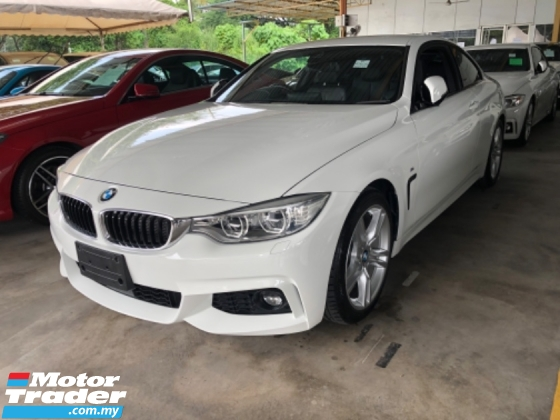 2015 BMW 4 SERIES Unreg BMW 420i Coupe 2 Door Turbo M Sport Paddle Shift Camera 2MS Push Start 8G