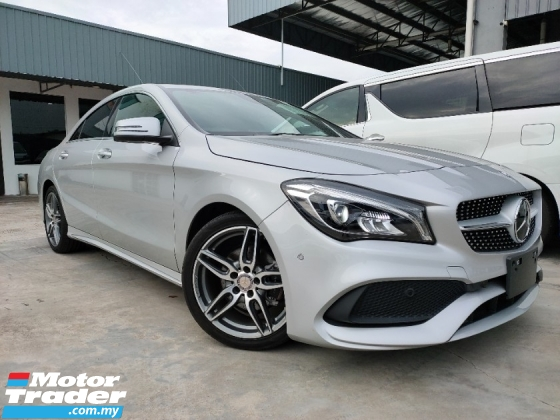 2017 MERCEDES-BENZ CLA 180AMG Facelift Radar LKA Blind Spot Keyless Unregister Offer