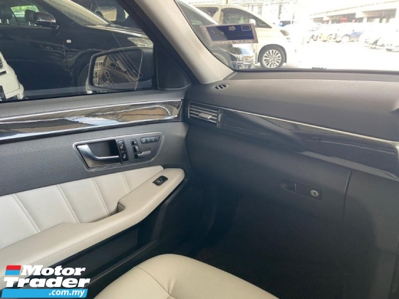 2013 MERCEDES-BENZ E-CLASS E300 AVANTGARDE = full spec foc warranty