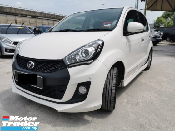 2017 PERODUA MYVI 1.5 SE FACELIFT ICON WHITE FOC WARRANTY