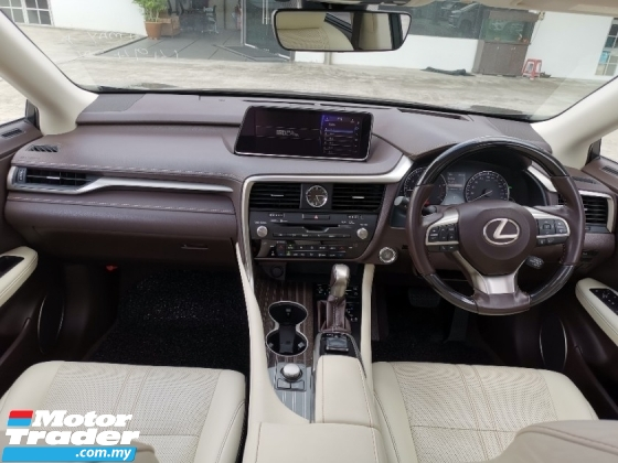 2016 LEXUS RX 200T VERSION L - PANAROMIC ROOF - JP UNREG