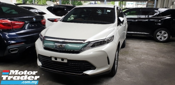 2017 TOYOTA HARRIER 2.0 ELEGANCE 2 TONE INTERIOR 50%SALES TAX DISCOUNT