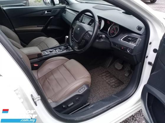 2014 PEUGEOT 508 GT SEDAN