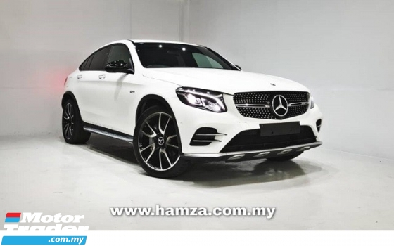 2017 MERCEDES-BENZ GLC 43 AMG 4MATIC Coupe UNREG