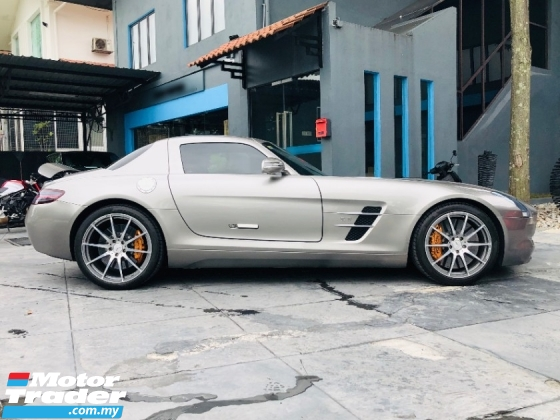 2010 MERCEDES-BENZ SLS AMG 6.2 V8 WITH MANY EXTRAS