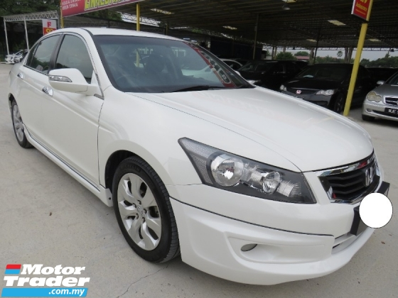 2011 HONDA ACCORD 2.4 (A) VTi-L 100% ACCIDENT FREE HIGH LOAN LIKENEW