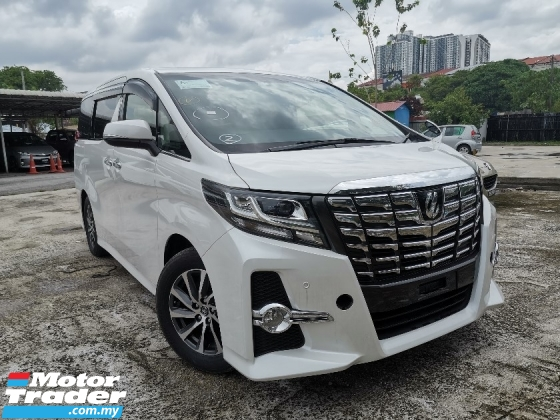 2015 TOYOTA ALPHARD 2.5 SA 7 SEATS/2 POWER DOOR UNREG