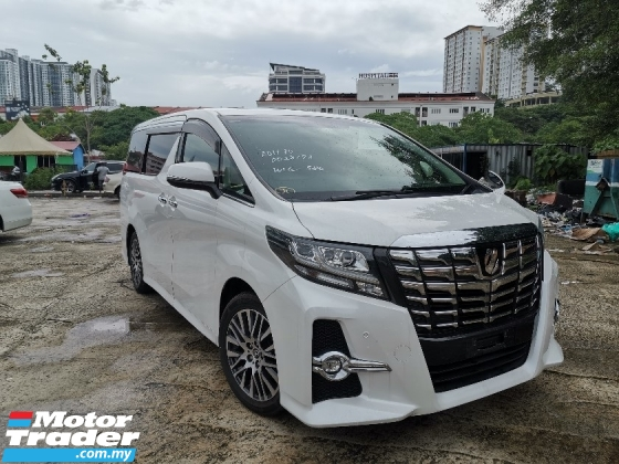 2015 TOYOTA ALPHARD 2.5 SC SUNROOF/PILOT SEATS/2POWER DOOR/POWER BOOT
