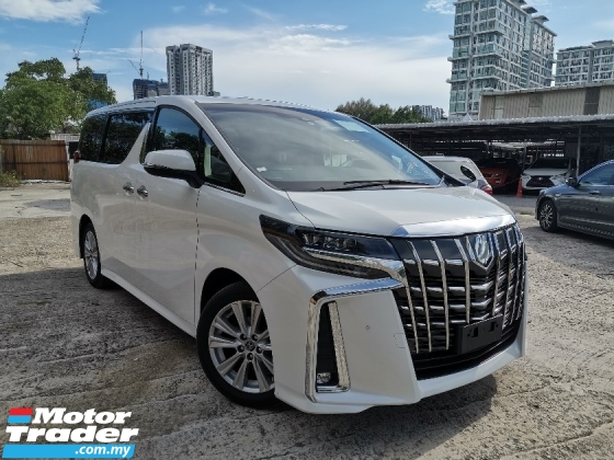 2018 TOYOTA ALPHARD 2.5 S SUNROOF/PRE CRASH/DIM/8 SEATS/2POWER DOOR