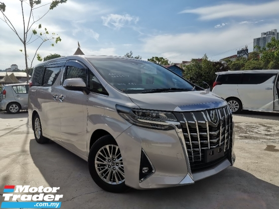 2019 TOYOTA ALPHARD 2.5 X GOLD COLOUR SUNROOF/8 SEATS/2 POWER DOOR