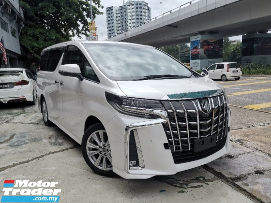 2019 TOYOTA ALPHARD 2.5 SA NEWFACELIFT SUNROOF/7 SEATS/2 POWER DOOR