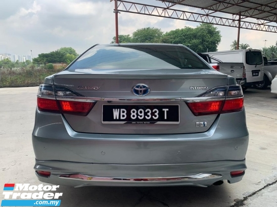 2015 TOYOTA CAMRY 2.5 HYBRID LUXURY (A) FULL SERVICE RECORD !