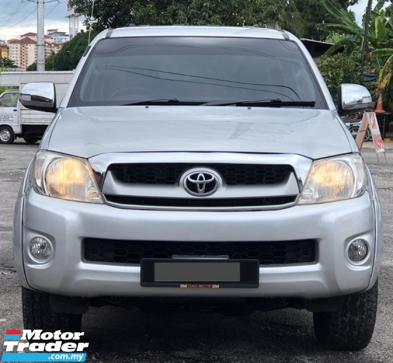 2010 TOYOTA HILUX 2.5 DOUBLE CAB