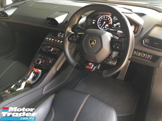 2017 LAMBORGHINI HURACAN LP610 5.2  Coupe PERFORMANTE V10
