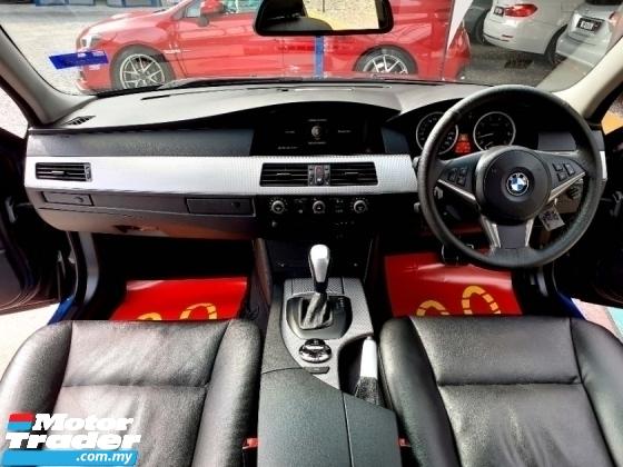 2004 BMW 5 SERIES Bmw 525i E60 2.5 M SPORT BKITSteering FLIFT WRRNTY