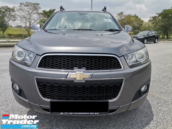 2012 CHEVROLET CAPTIVA 2.4 (A) AWD LT PETROL LEATHER SEAT REVERSE CAMERA CAR KING CONDITION