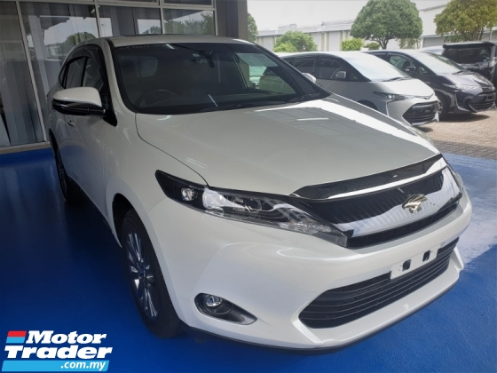 2015 TOYOTA HARRIER 2.0 PREMIUM 50% TAX SALES DISCOUNT