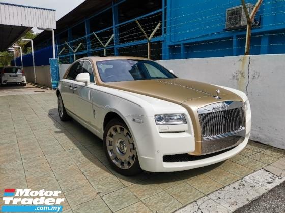 2014 ROLLS-ROYCE GHOST U.K ROLLS ROYCE APPROVED PRE-OWNED UNIT* 2014 Rolls-Royce Ghost 6.6L* 50%-SALE TAX DISCOUNT.