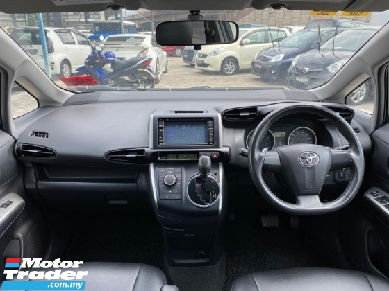 2014 TOYOTA WISH 1.8 FULL SPEC, WARRANTY, PUSH START, PADDLE SHIFT