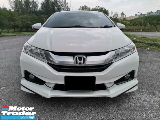 2014 HONDA CITY 1.5 (A) V SPEC PUSH START TOUCH SCREEN MONITOR FULL SERVICE RECORD SPORTS RIMS TIP TOP CONDITION