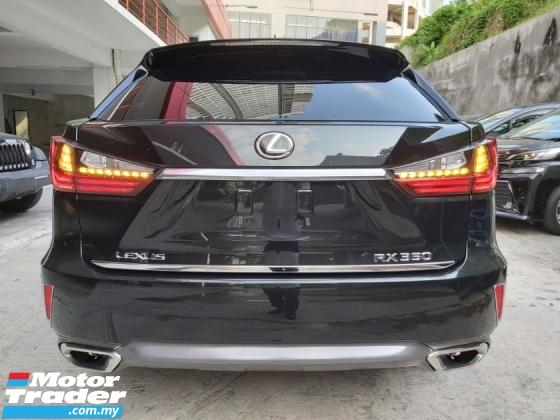2016 LEXUS RX 200 RX200 VL (UNREG) 2.0L 4 CAM HUD HIGH SPEC