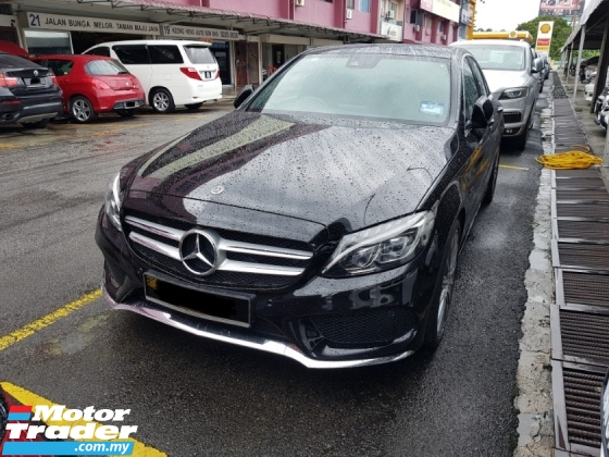 2018 MERCEDES-BENZ C-CLASS C350e AMG Line (A) LIKE NEW