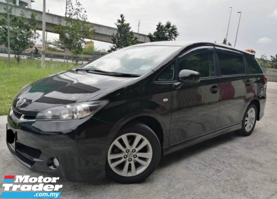 2011 TOYOTA WISH 1.8 TYPE S PUSH START PADDLE SHIFT
