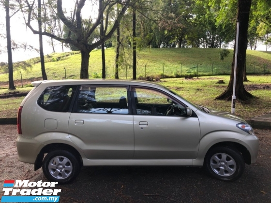 2005 TOYOTA AVANZA 1.3 E (A) VVTI 1 OWNER WELL KEPT