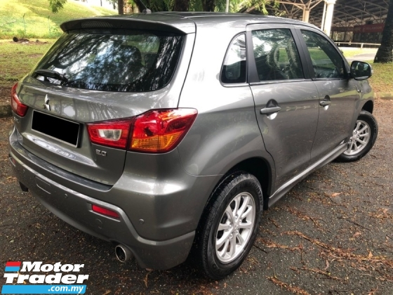 2011 MITSUBISHI ASX 2.0L SE (A) FULLY IMPORTED MIVEC 1 OWNER