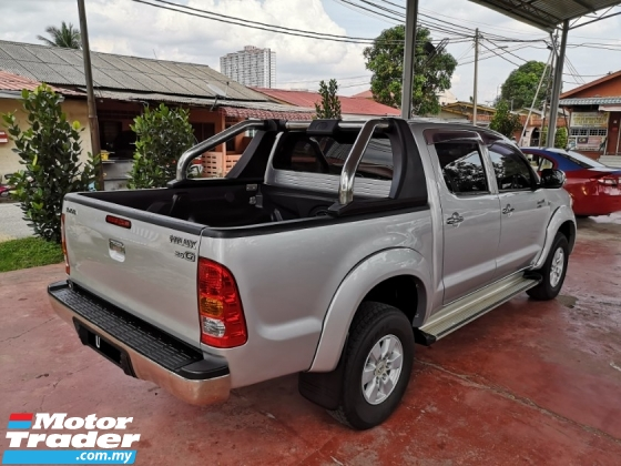 2010 TOYOTA HILUX YEAR 2010 2.5 G FACELIFT (A) 4X4 FULL SPEC