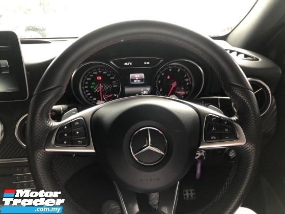 2017 MERCEDES-BENZ A-CLASS Unreg Mercedes Benz A180 1.6 Facelift Turbo AMG Sport Paddle Shift Parktonic Sensor SST Deduction