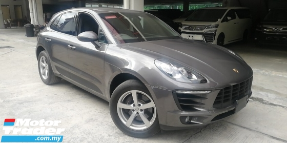 2015 PORSCHE MACAN 2.0 turbo Japan spec