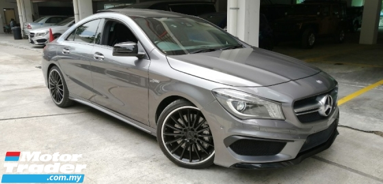 2015 MERCEDES-BENZ CLA CLA45 AMG panoramic roof 2015