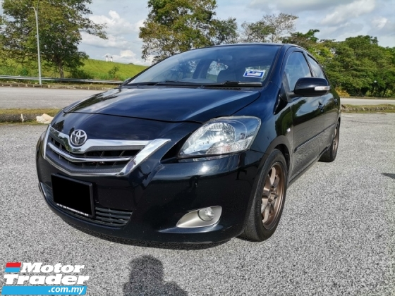2009 TOYOTA VIOS 1.5 G (A) SPORTS RIM LEATHER SEAT ADJUSTABLE GOOD CONDITION