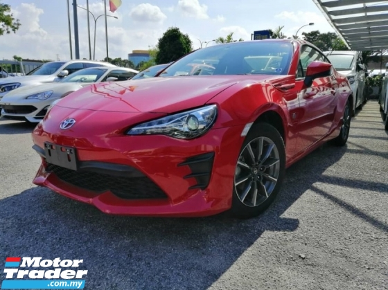 2017 TOYOTA 86 2.0 NEW FACELIFT - G EDITION - JAPAN UNREGISTERED