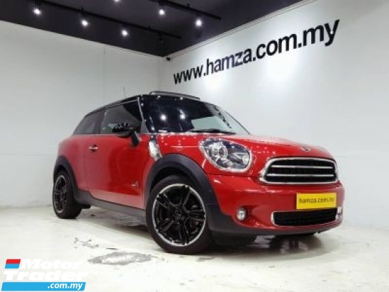 2015 MINI PACEMAN 2015 Mini Paceman 1.6 Chili Pack P/Roof Unreg