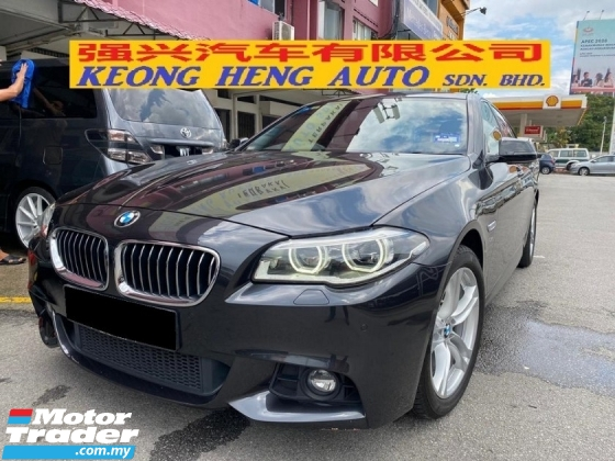 2014 BMW 5 SERIES 528I M-SPORTS CKD 68K KM FREE 2 Years Warranty