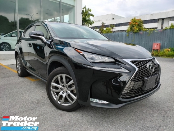 2015 LEXUS NX 200T i Package PreCrash Power Boot Red Leather Unregister Offer