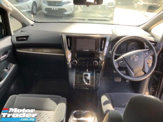 2015 TOYOTA ALPHARD 2.5 SA surround camera power boot 7 seaters 2 power doors push start keyless entry Alpine monitor