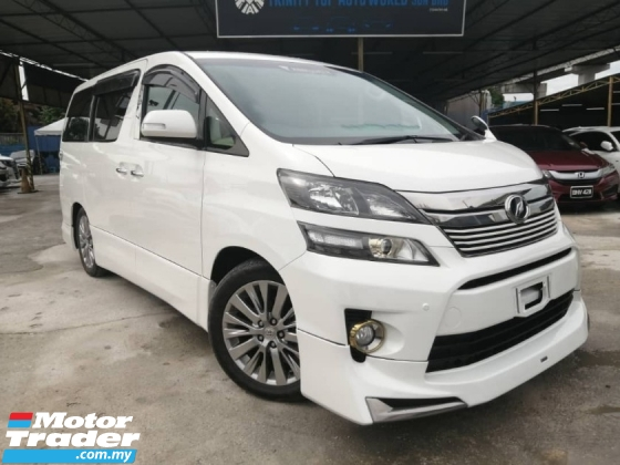 2015 TOYOTA VELLFIRE 2.4 Z GOLDEN EYES FACELIFT