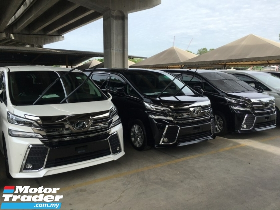 2017 TOYOTA VELLFIRE 2.5 ZG Sun Roof Full View Camera Power Boat