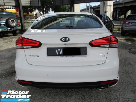 2017 KIA CERATO 1.6 K3 Facelift Full Spec (A) UnderWarranty