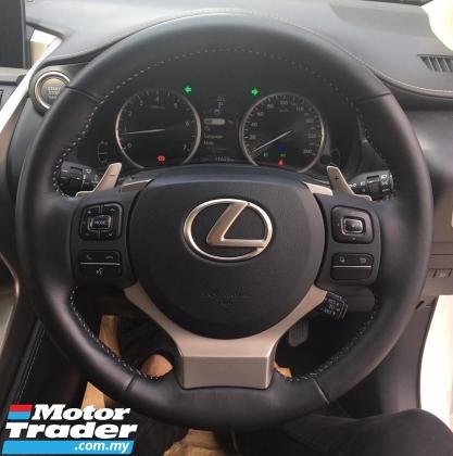2017 LEXUS NX ORI LOW MILEAGE Lexus NX200 2.0 T 2017 INT BROWN